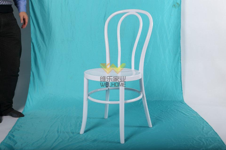 White Solid Wood thonet Vienna Dinning Chair for wedding/event